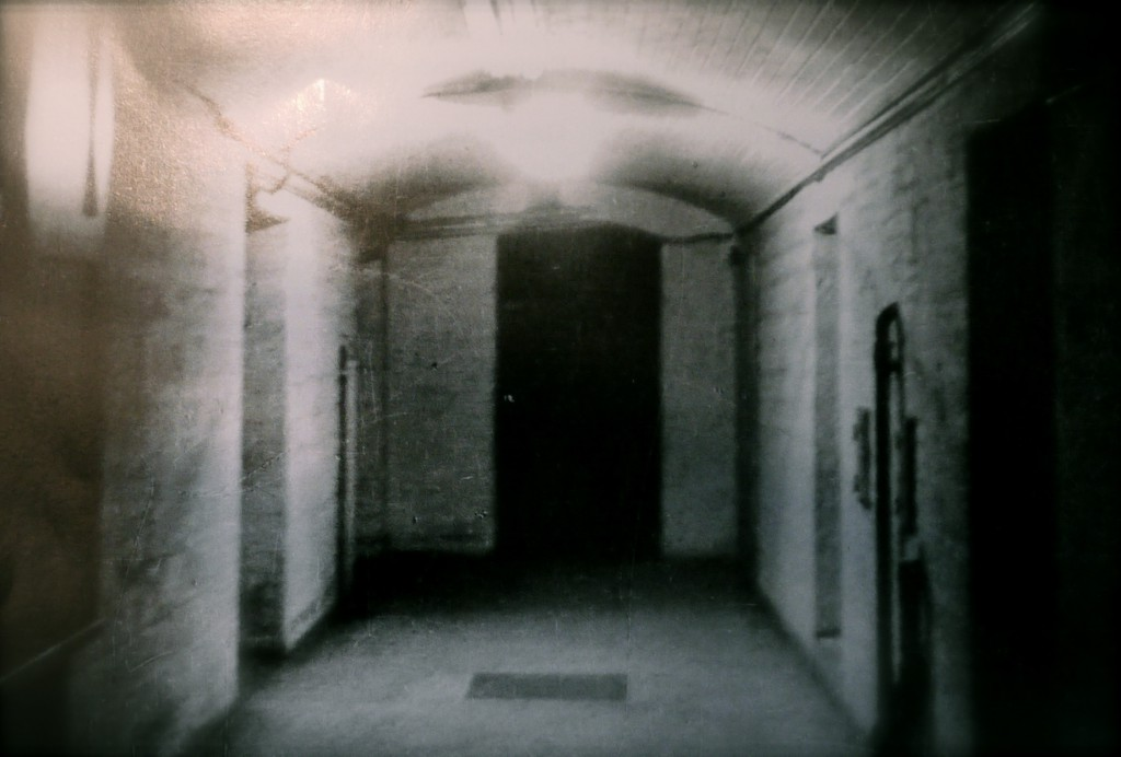 Hinrichtungsgang im damaligen Oberlandesgericht Stuttgart