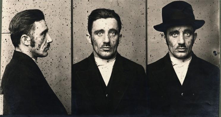 Polizeifoto Viktor 1921