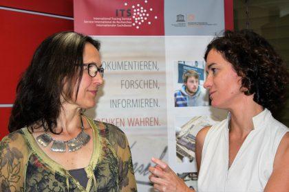 Floriane Hohenberg, neue Leiterin des ITS im Gespräch mit Carmen Eckhardt